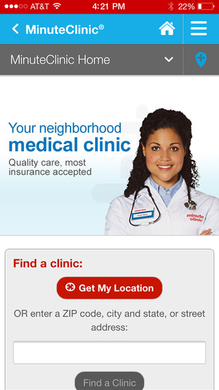 5 Reasons Why the CVS Pharmacy App Makes Caring for Sick Kids Easier- Find a Minute Clinic. More information on TechSavvyMama.com