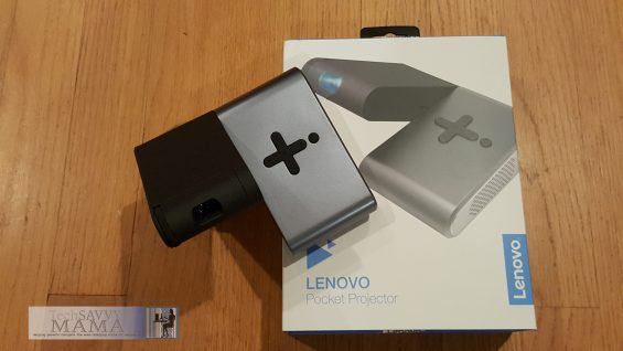 Lenovo's Pocket Projector: Portable Video Viewing Anywhere. Full review on TechSavvyMama.com