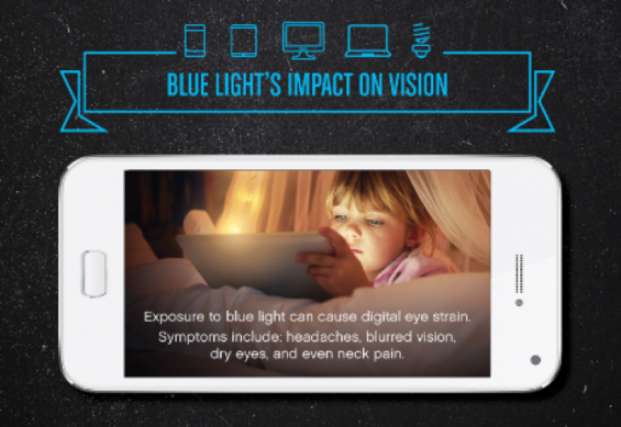 Blue Light's Impact on Vision and What Parents Need to Know on TechSavvyMama.com