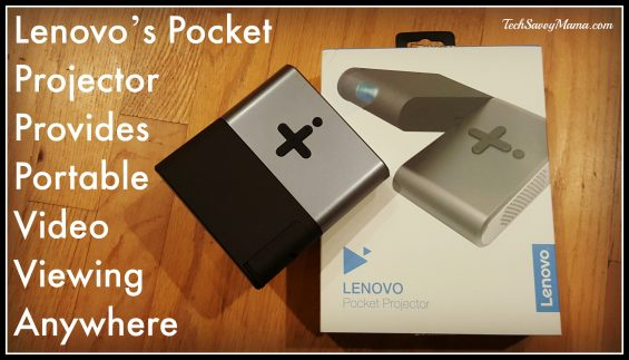 Lenovo's Pocket Projector Provides Portable Video Viewing Anywhere