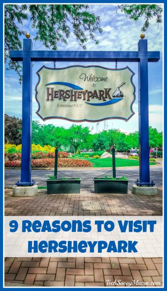 9 Reasons to Visit Hersheypark on TechSavvyMama.com #HersheyParkHappy #PepsiatthePark #sponsored