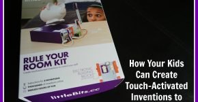 How Your Kids Can Create Touch-Activated Inventions to Secure Their Stuff on TechSavvyMama.com