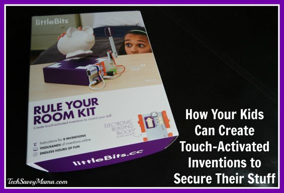 Littlebits Rule Your Room Kit Inspires Kids To Create Touch Activated Inventions To