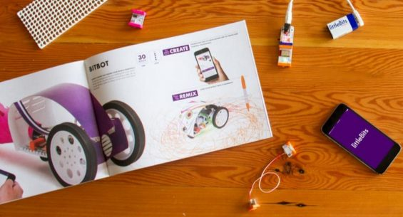 Why Young Makers Will Love littleBits Gizmos & Gadgets Kit, 2ndEdition. Details on TechSavvyMama.com