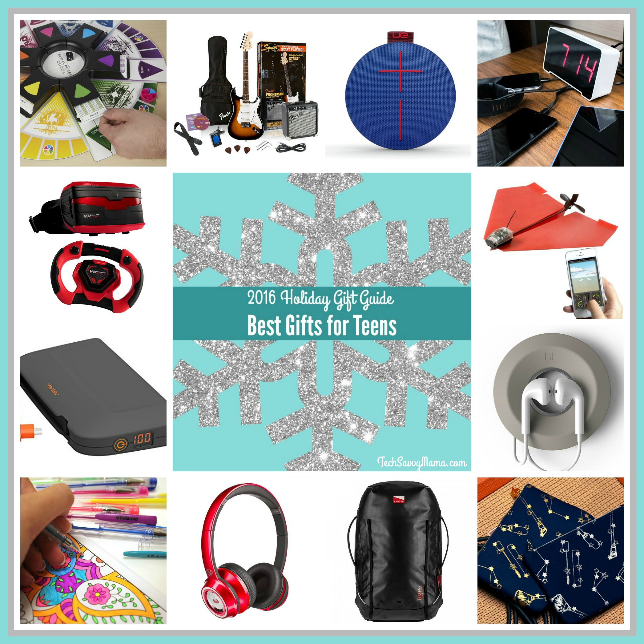 2016 Gift Guide Best Gifts for Teens ages 13 Tech Savvy Mama