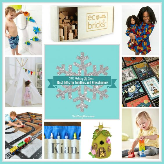 2016 Gift Guide: Gifts for Toddlers and Preschoolers (18 months- age 5) on TechSavvyMama.com
