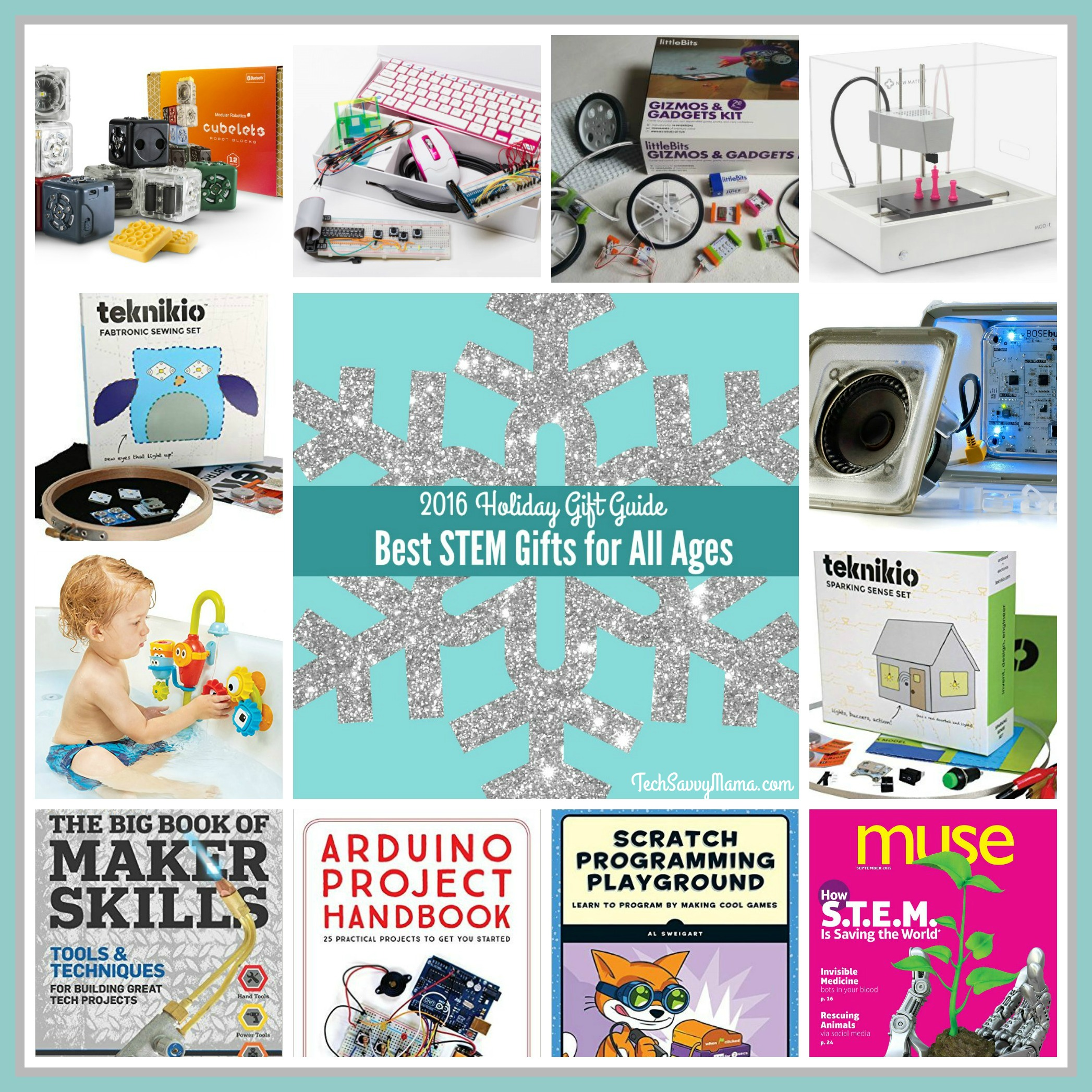 STEM Gifts for Kids of All Ages preK Teen Tech Savvy Mama