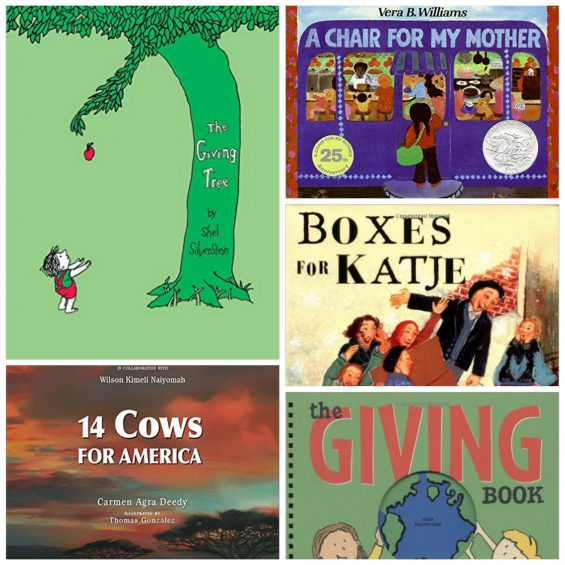 Books to Inspire Elementary Ages to Learn about Giving on #GivingTuesday and Beyond on TechSavvyMama.com