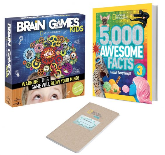 National Geographic Kids Brain Games Prize Pack giveaway on TechSavvyMama.com