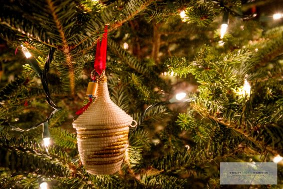 Macy's Rwanda Path to Peace Limited Edition Gold Ornament