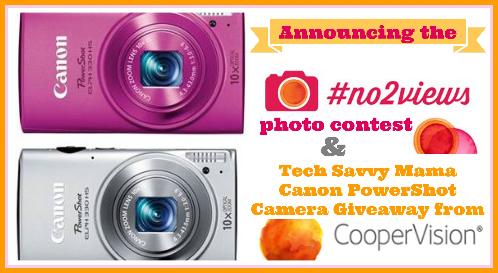 canon camera giveaway 2019 coopervision no2views photo contest w canon powershot 1792