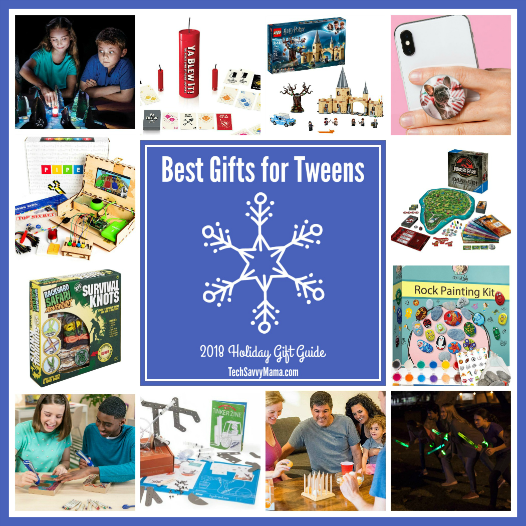 2018 Gift Guide: Best Gifts for Tweens (ages 8-12)